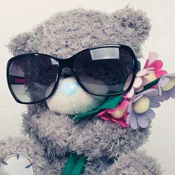 Рекламная фотосессия салона оптики «Престиж» - очки на мишках